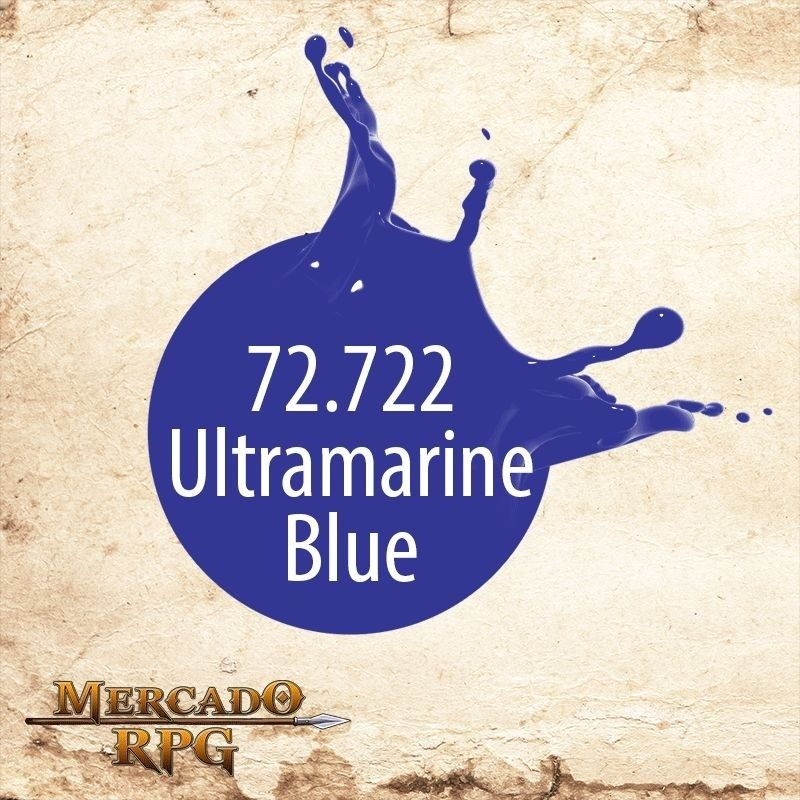 Ultramarine Blue 72.722  - Mercado RPG