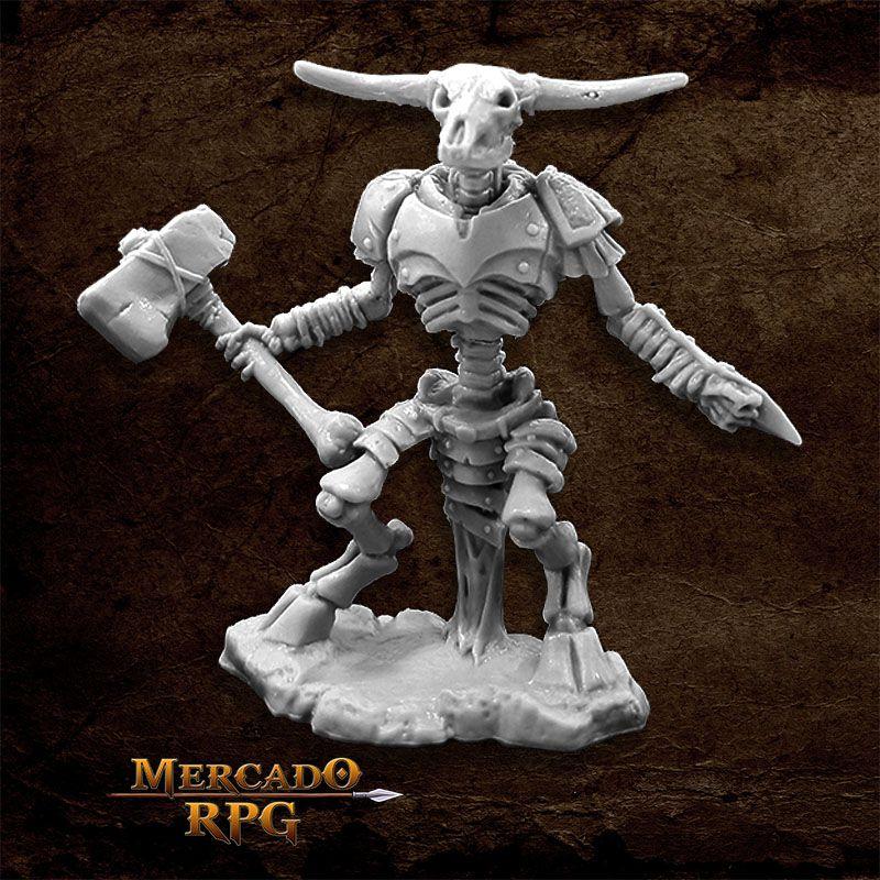 Undying Minotaur - Miniatura RPG