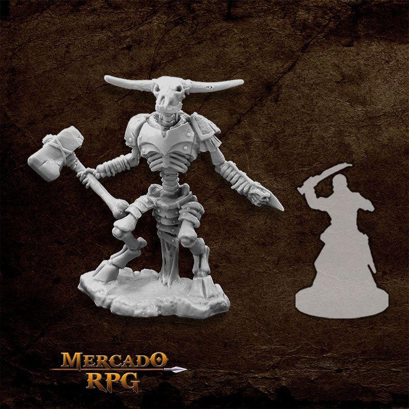Undying Minotaur - Miniatura RPG  - Mercado RPG