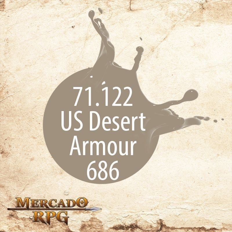 US Desert Armour 686 71.122  - Mercado RPG