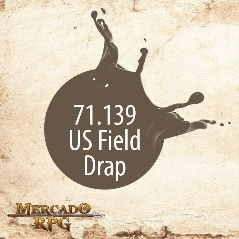 US Field Drap 71.139  - Mercado RPG