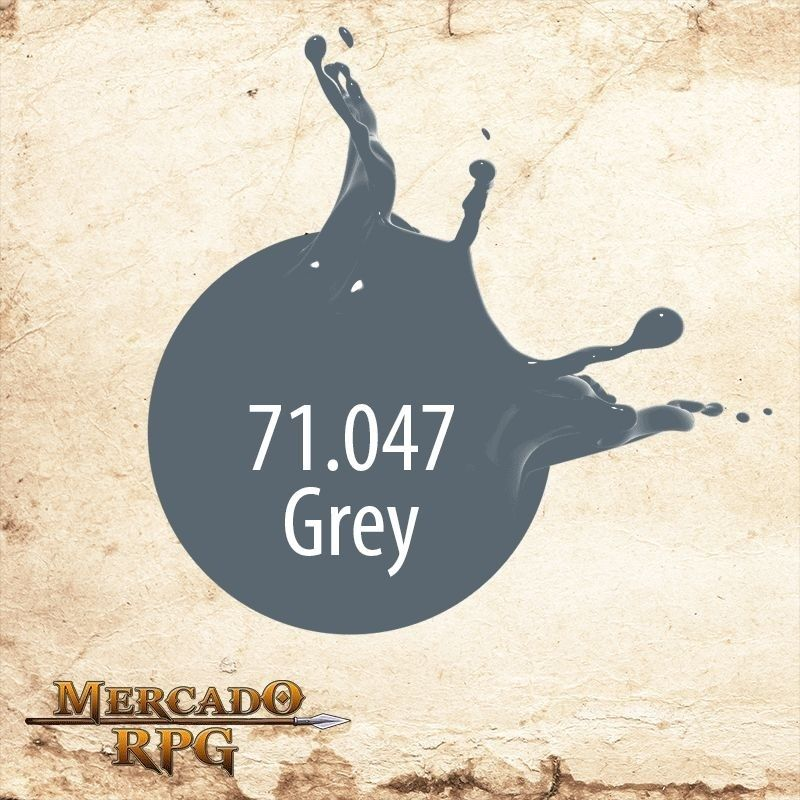 US Grey 71.047  - Mercado RPG