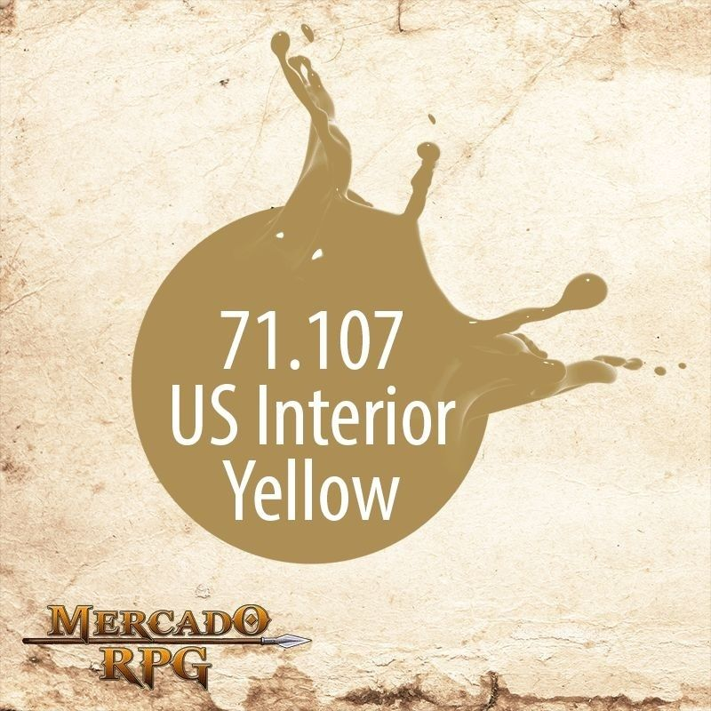 US Interior Yellow 71.107  - Mercado RPG