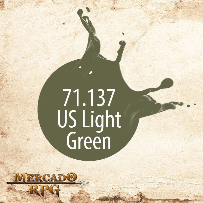 US Light Green 71.137  - Mercado RPG