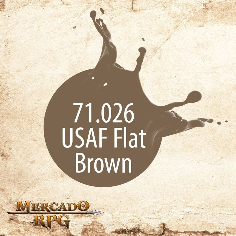 USAF Flat Brown 71.026  - Mercado RPG