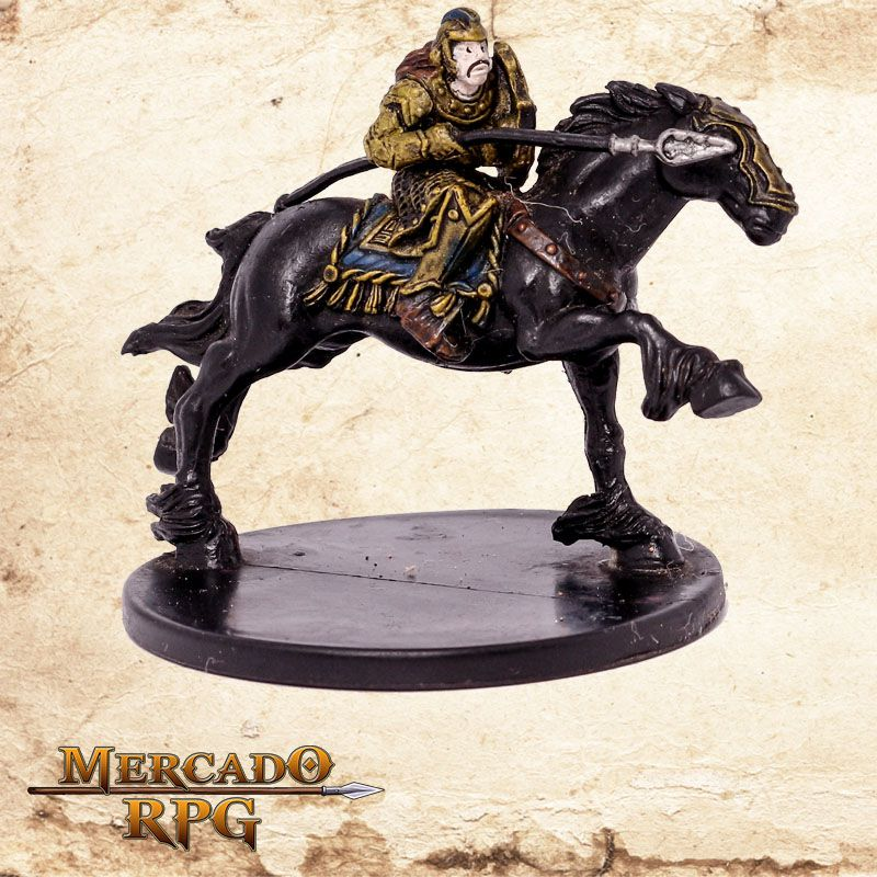 Valiant Cavalary - Miniatura RPG  - Mercado RPG