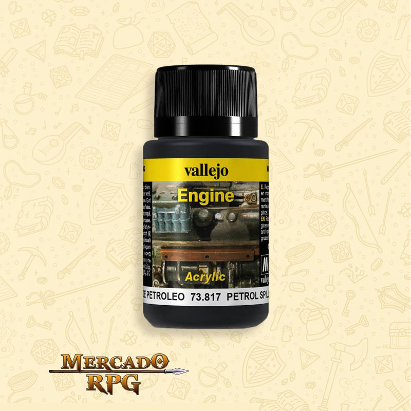 Vallejo Weathering: Engine Effects - Petrol Spills - RPG