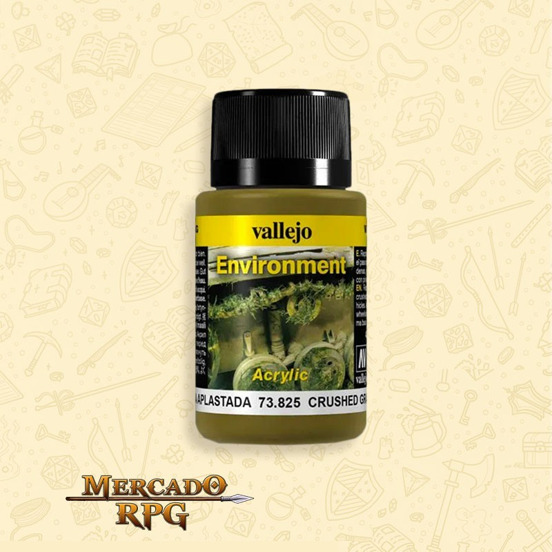 Vallejo Weathering: Environment - Crushed Grass 40ml - RPG