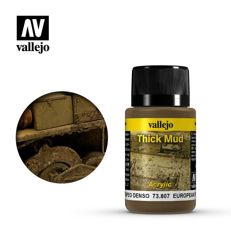 Vallejo Weathering: Thick Mud - RPG  - Mercado RPG