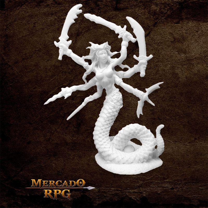 Vandorendra Snake Demon - Miniatura RPG