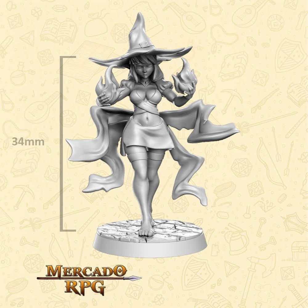 Veena - Miniatura - RPG