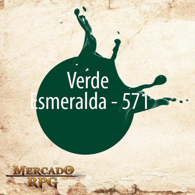 Verde Esmeralda - 571 - RPG  - Mercado RPG