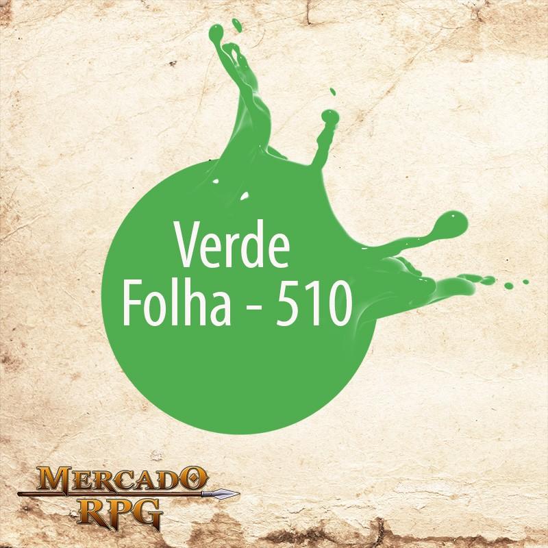 Verde Folha - 510 - RPG  - Mercado RPG