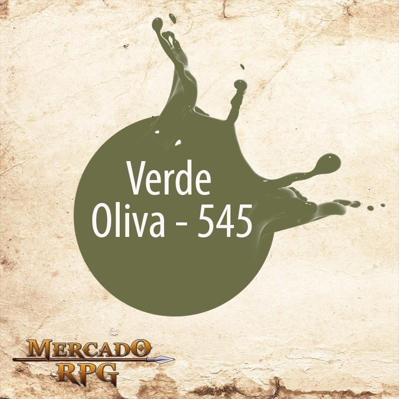 Verde Oliva 545 - Tinta Acrílica Fosca Nature Colors 60ml - Acrilex - RPG