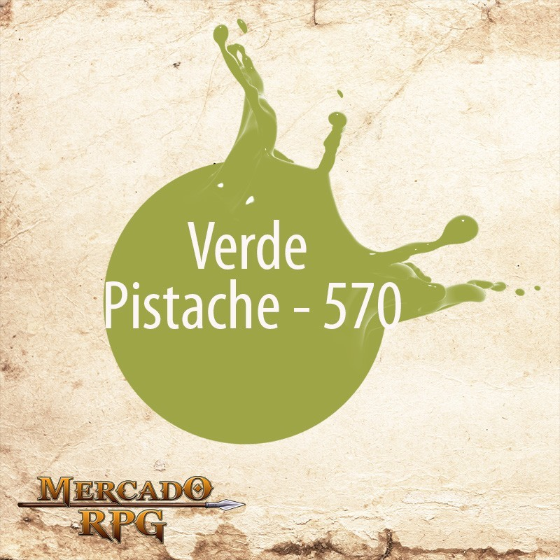 Verde Pistache 570 - Tinta Acrílica Fosca Nature Colors 60ml - Acrilex - RPG