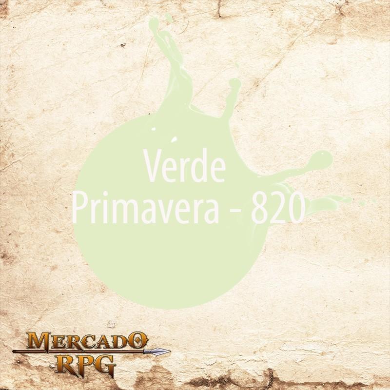 Verde Primavera 820 - Tinta Acrílica Fosca Nature Colors 60ml - Acrilex - RPG