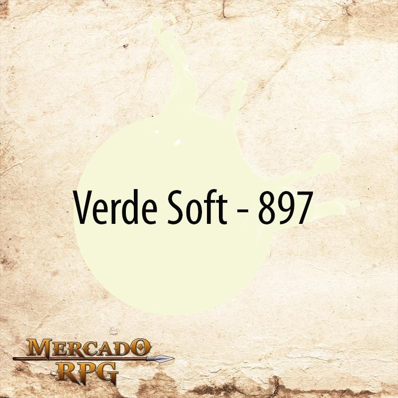 Verde Soft 897 - Tinta Acrílica Fosca Nature Colors 60ml - Acrilex - RPG
