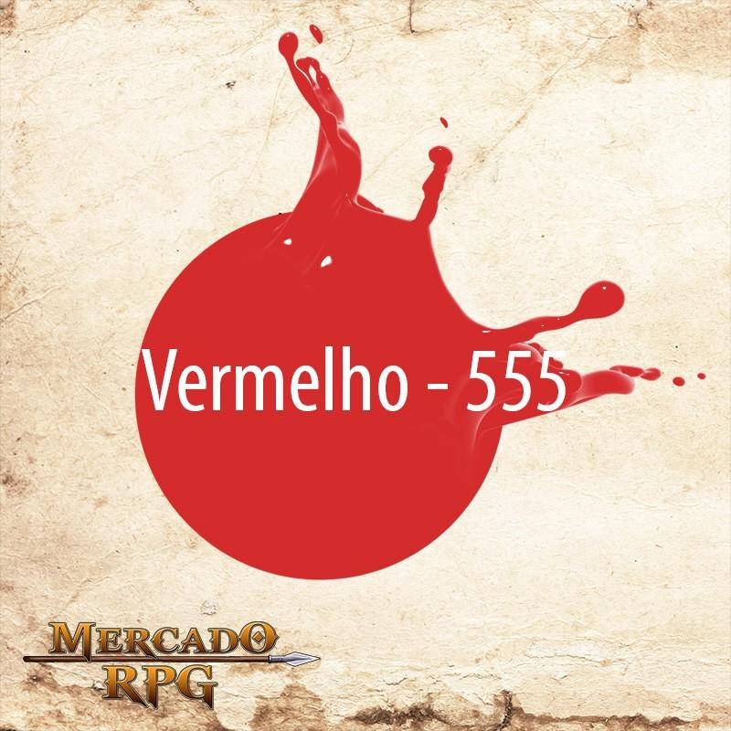 Vermelho 555 - Tinta Acrílica Fosca Nature Colors 60ml - Acrilex - RPG