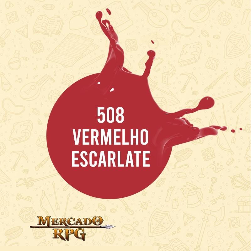Vermelho Escarlate - 508 - RPG