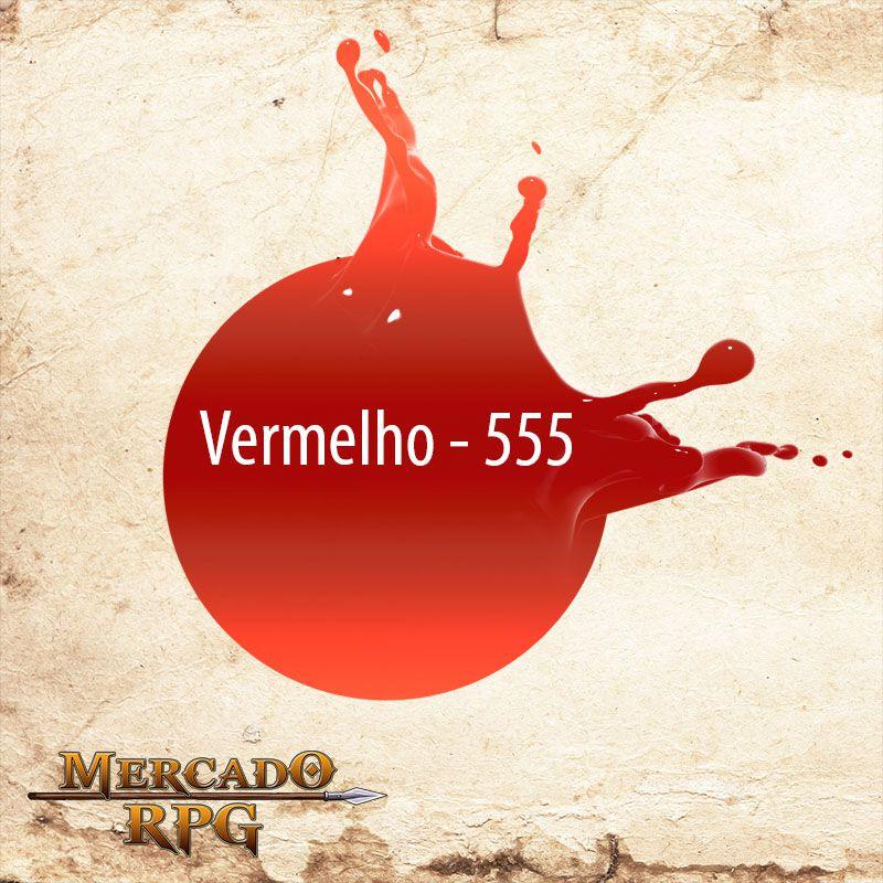 Vermelho Metálico - 555 - RPG  - Mercado RPG