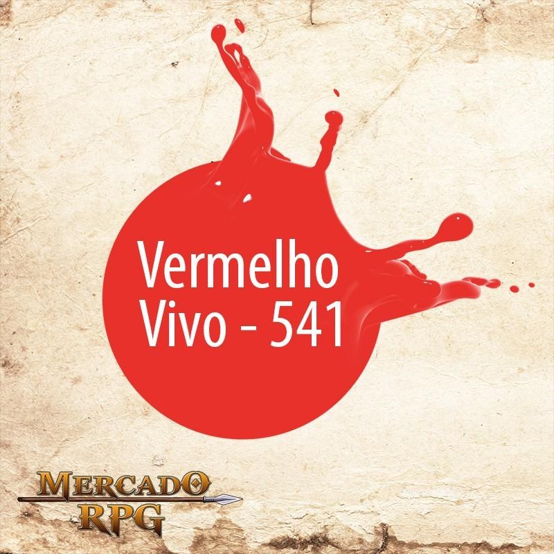 Vermelho Vivo 541 - Tinta Acrílica Fosca Nature Colors 60ml - Acrilex - RPG