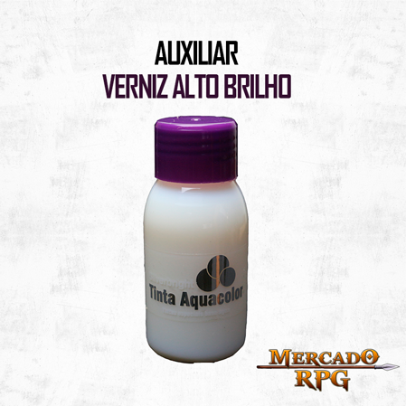 Verniz Alto Brilho - RPG  - Mercado RPG