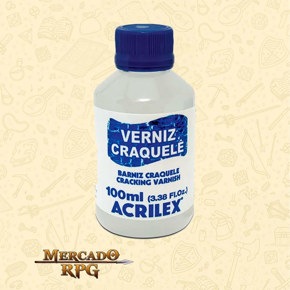 Verniz Craquelê - Cracking Varnish 100ml - Acrilex - RPG
