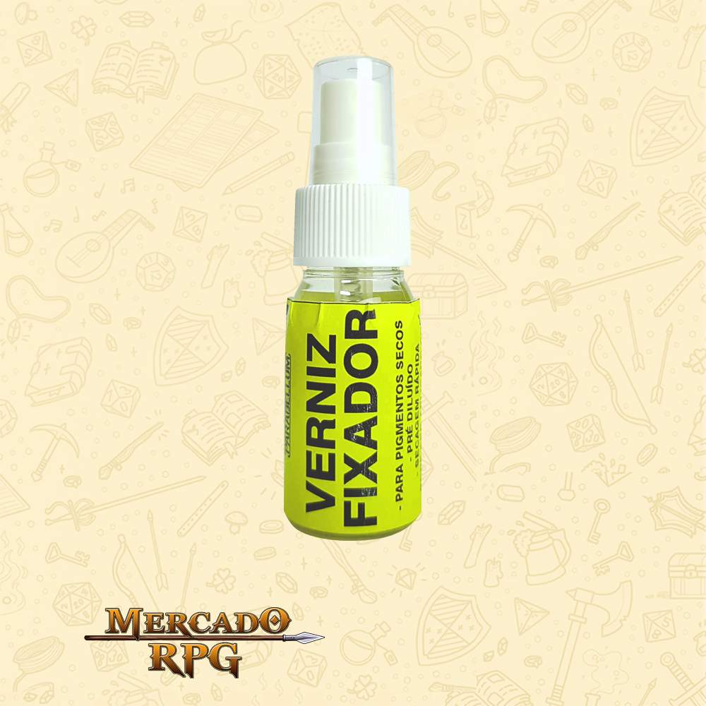 Verniz Fixador - Frasco Spray 60ml - RPG