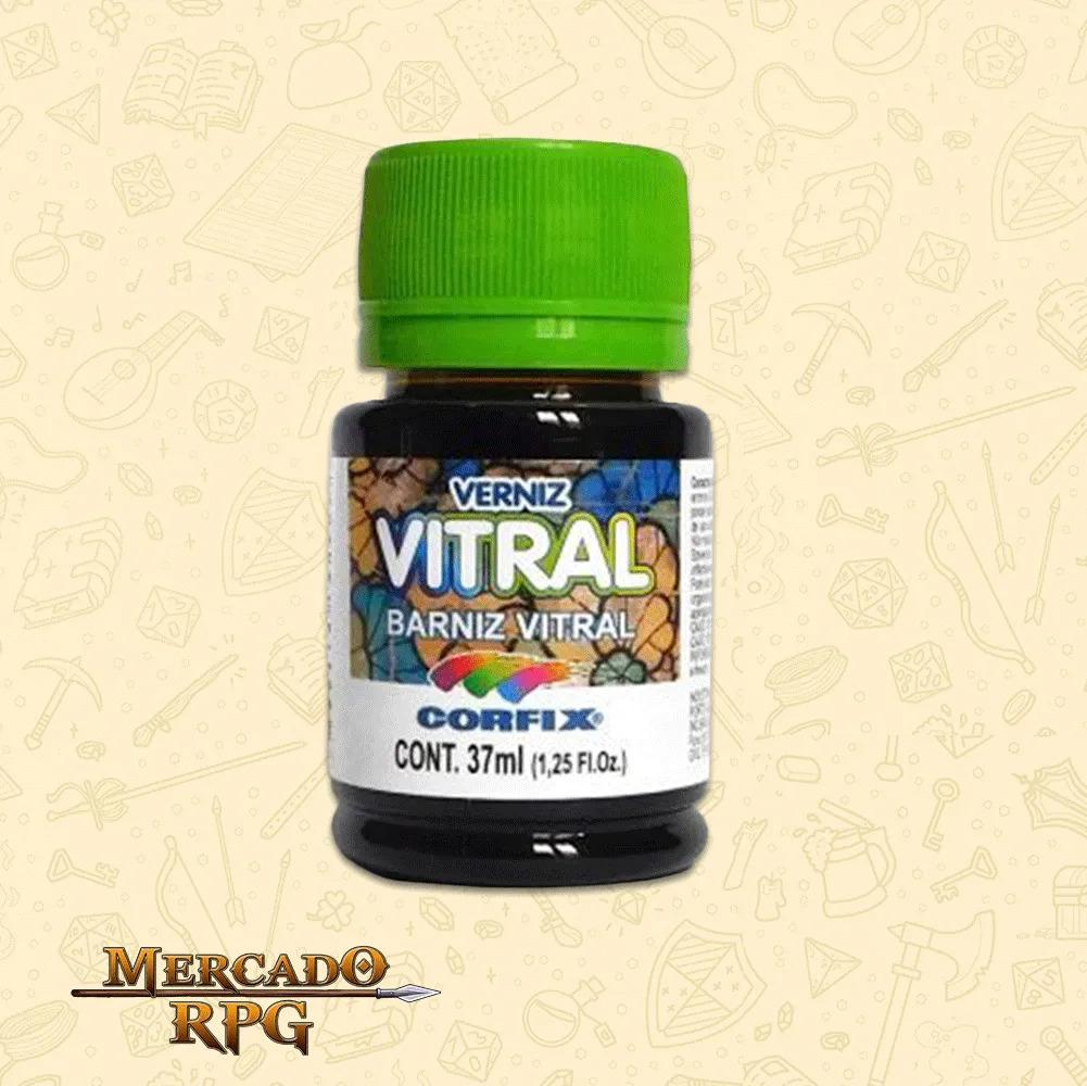 Verniz Vitral 37ml - Azul Cobalto - Corfix - RPG