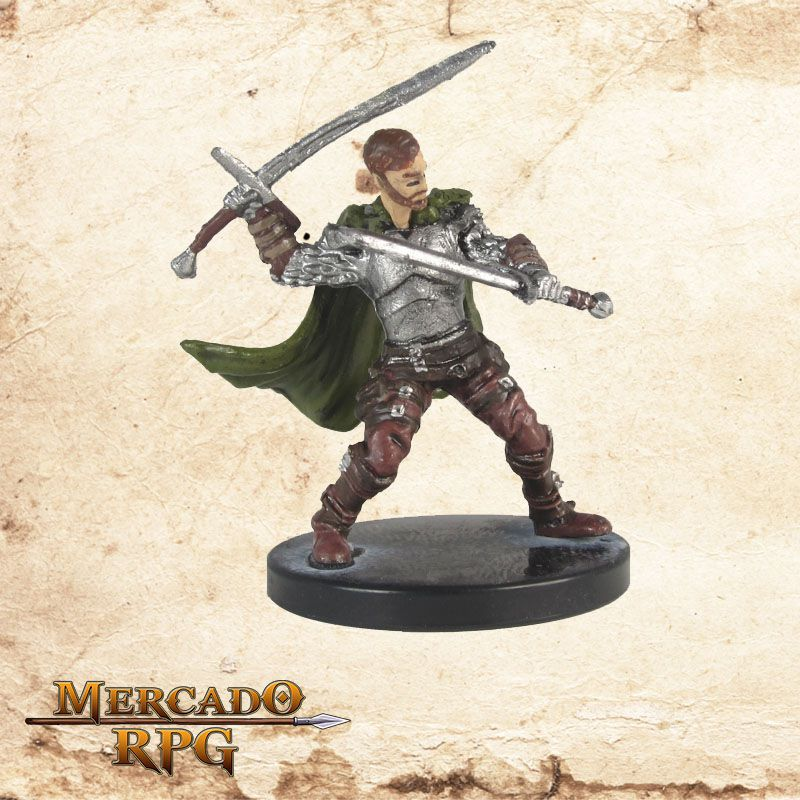 Veteran Leader - Miniatura RPG