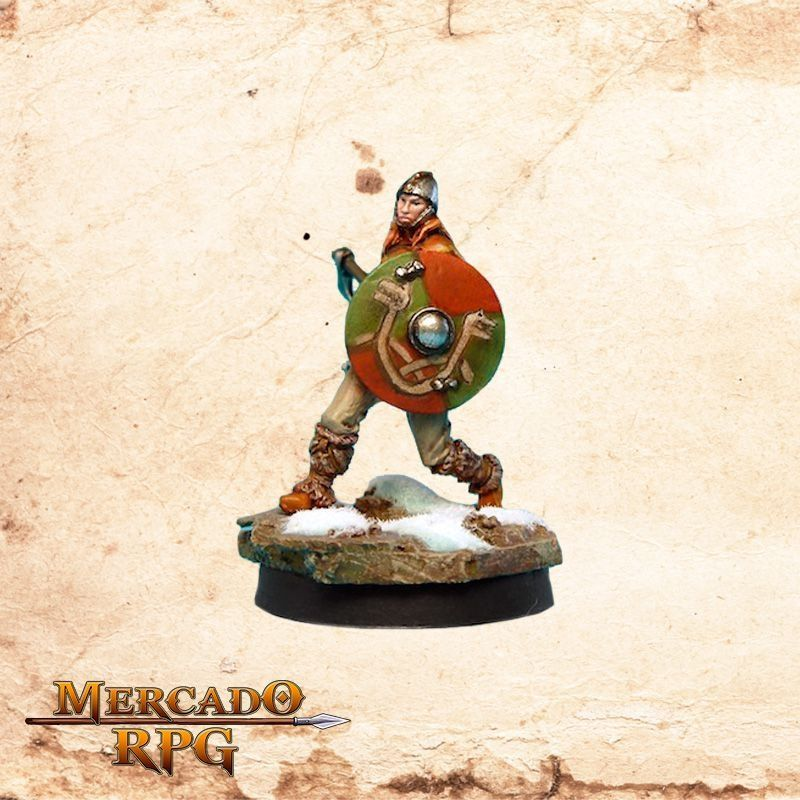 Vilhanna of the Shield - Miniatura RPG
