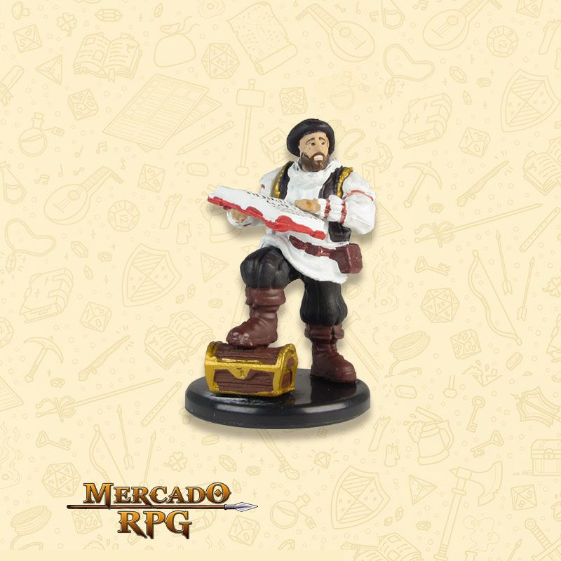 Volothamp Geddarm - Miniatura RPG  - Mercado RPG