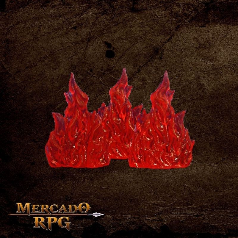 Wall of Fire  - Mercado RPG