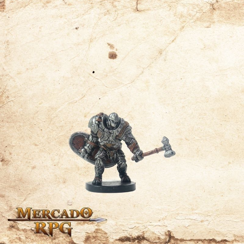 Warforged Bodyguard - Com carta  - Mercado RPG