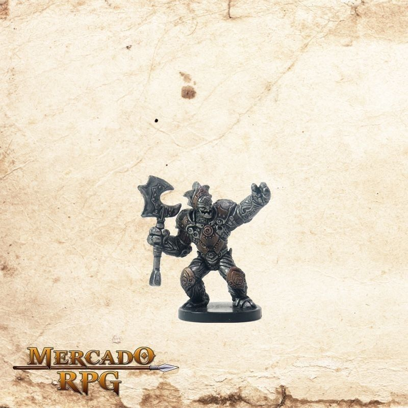Warforged Captain - Com carta  - Mercado RPG