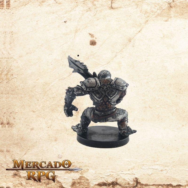 Warforged Fighter - Com carta  - Mercado RPG