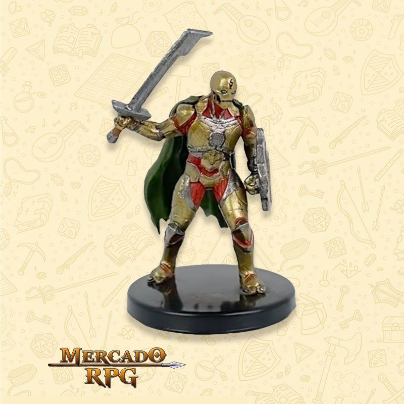 Warforged Sword - Miniatura RPG