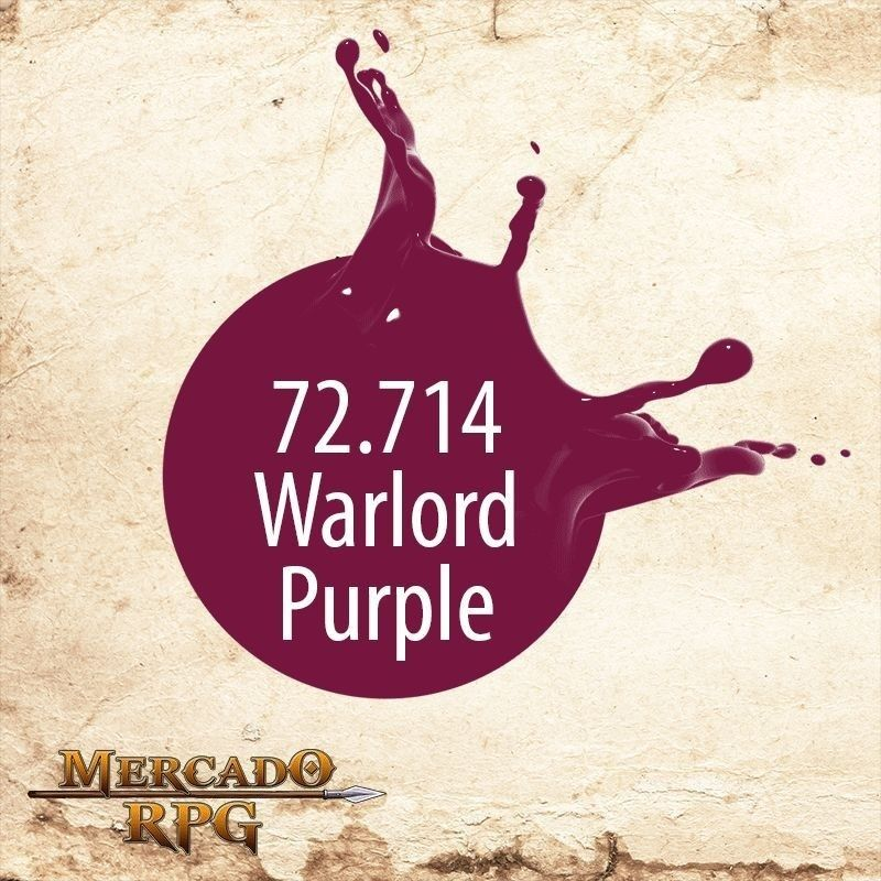 Warlord Purple 72.714  - Mercado RPG