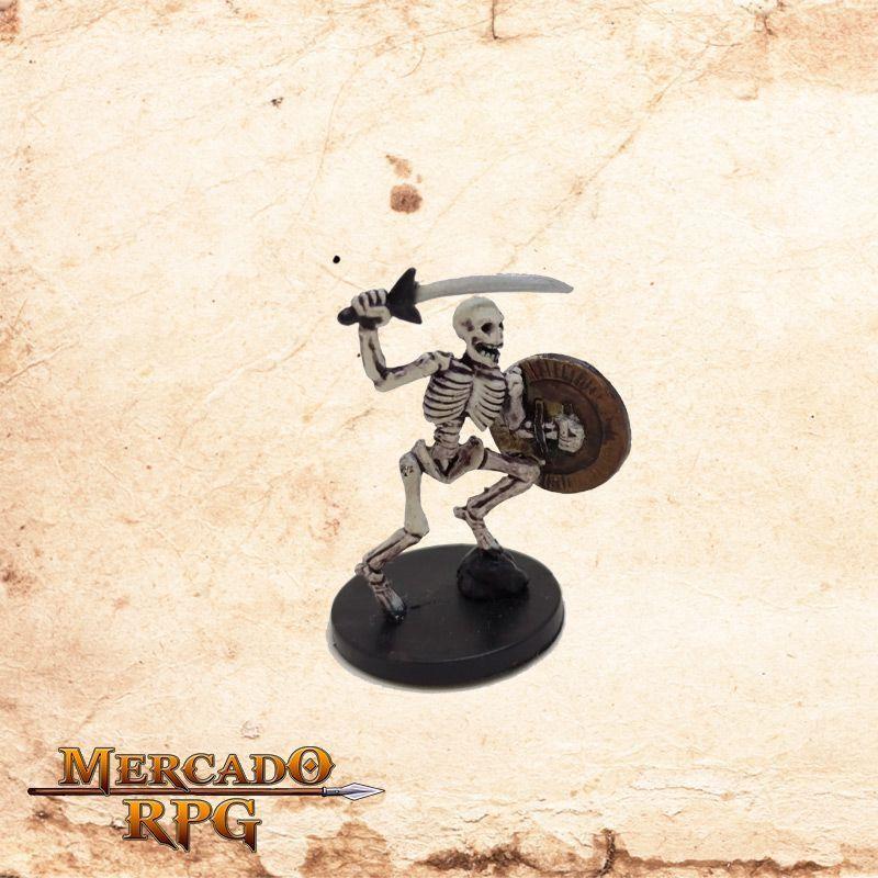 Warrior Skeleton - Com carta  - Mercado RPG