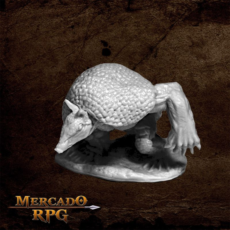Werearmadillo  - Mercado RPG