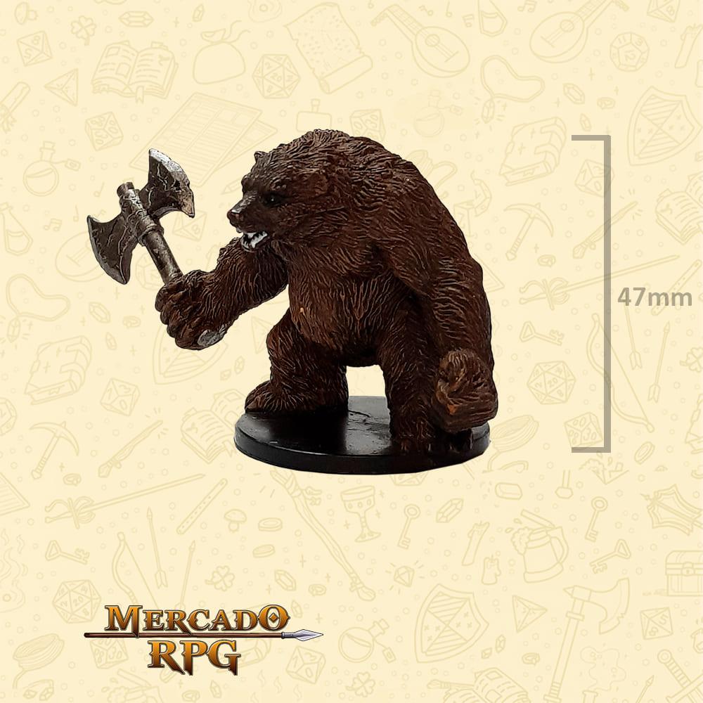 Werebear - Miniatura D&D - RPG