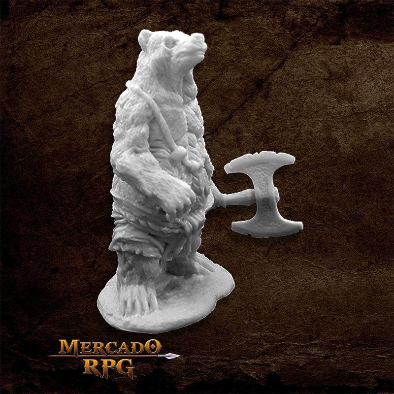 Werebear - Miniatura RPG  - Mercado RPG