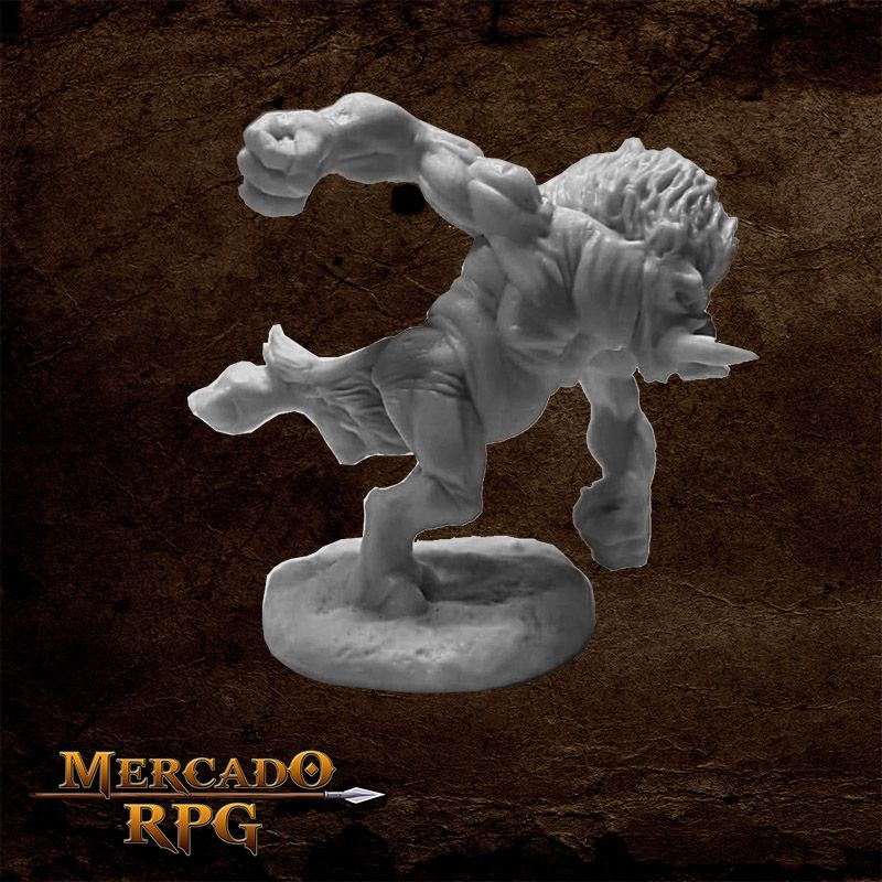 Wereboar - Miniatura RPG