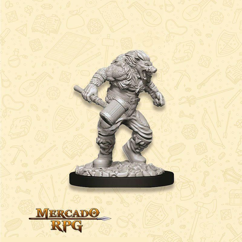 Wereboar - Miniatura RPG  - Mercado RPG