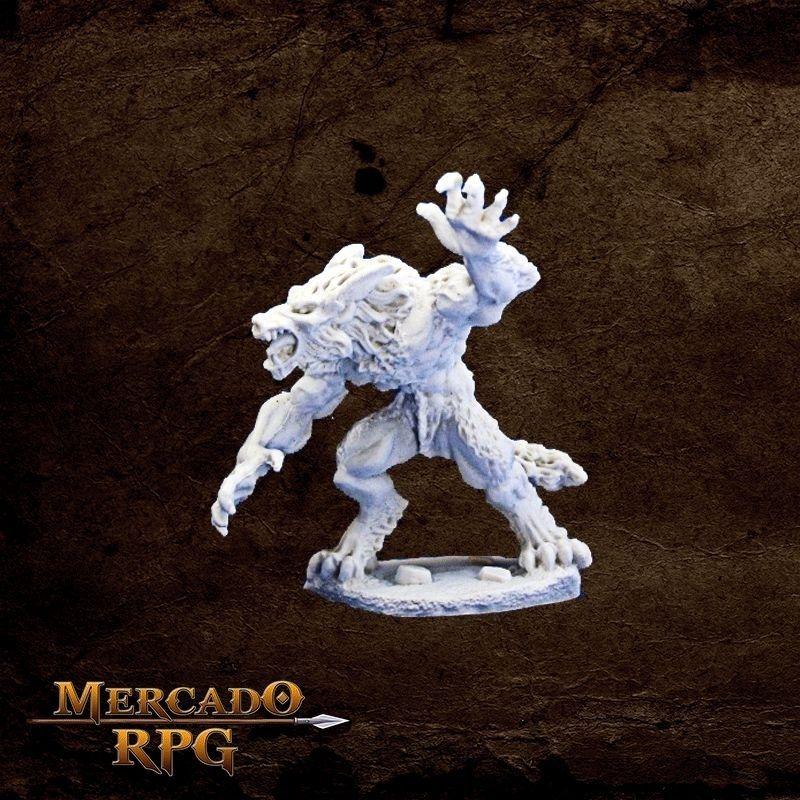 Werewolf Raged - Miniatura RPG  - Mercado RPG