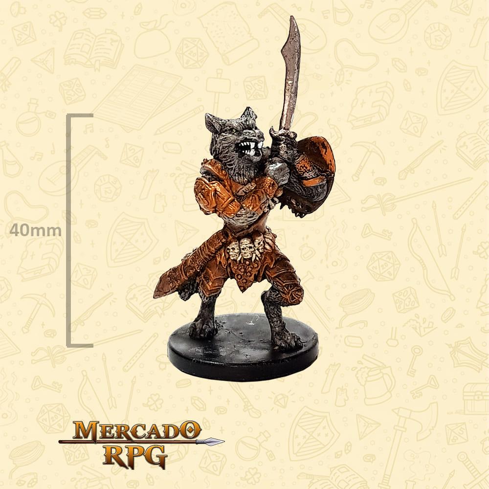 Werewolf Champion - Miniatura D&D - RPG