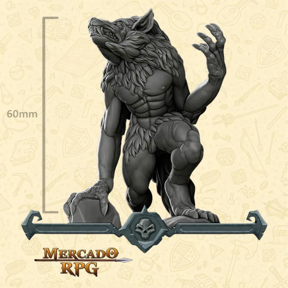 Werewolf Large - Miniatura - RPG