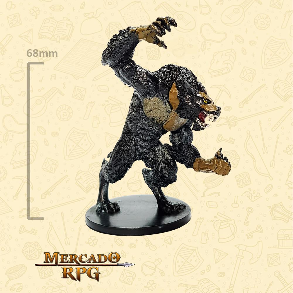 Werewolf Lord - Miniatura D&D - RPG