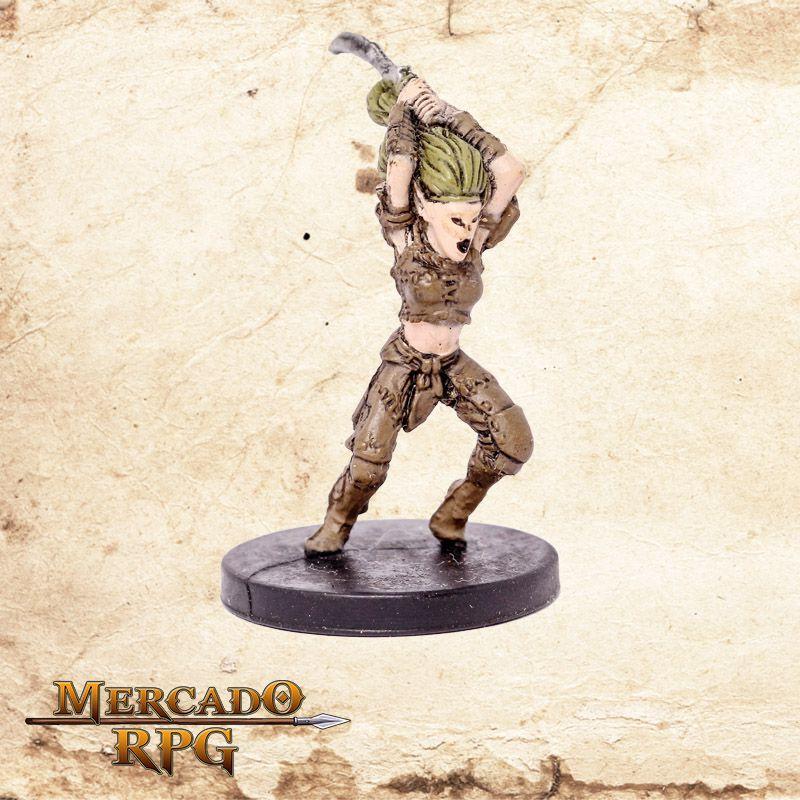 Wild Elf Warsinger - Miniatura RPG