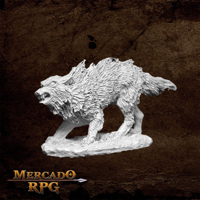 Winter Wolf - Miniatura RPG